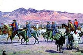 Approximately 240 colonists joined the expedition from Mexico to California.