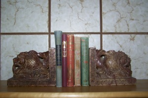 "Some of my cherished ""antiquated"" books."