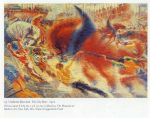 Umberto Boccioni_The_City_Rises_1910