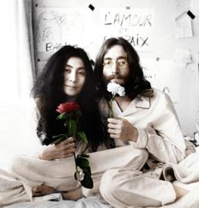 Yoko-Ono-Bed-In