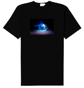 crystal ball t-shirt